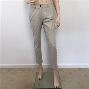Boden Beige Ankle Trouser chino pant 6R